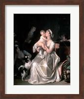 Motherhood, 1805 Fine Art Print