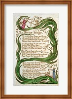 The Divine Image, from Songs of Innocence, 1789 Fine Art Print