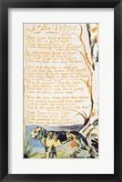 The Tyger, from Songs of Innocence Fine Art Print