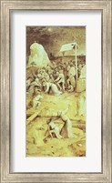Christ on the Road to Calvary, from the Temptation of St. Anthony triptych Fine Art Print