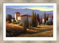 Blue Shadows in Tuscany I Fine Art Print