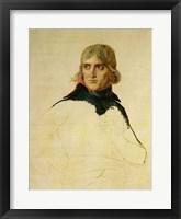 Unfinished portrait of General Bonaparte Fine Art Print