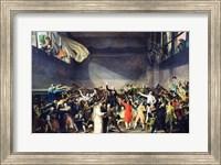 The Tennis Court Oath, 20th June 1789 Fine Art Print