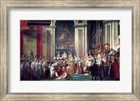 The Consecration of the Emperor Napoleon II Fine Art Print