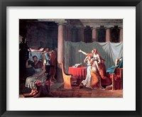 Lictors Bearing to Brutus the Bodies of his Sons, 1789 Fine Art Print