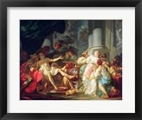 The Death of Seneca, 1773 Fine Art Print