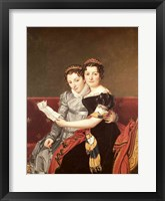 Zenaide and Charlotte Fine Art Print
