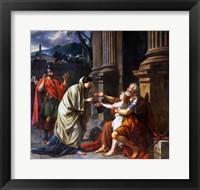 Belisarius Begging for Alms, 1781 Fine Art Print