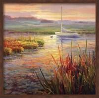 Sunset Marsh Fine Art Print