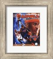 Carmelo Anthony 2011 Portrait Plus Fine Art Print