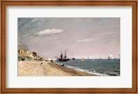 Brighton Beach with colliers, 1824 Fine Art Print