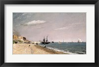 Brighton Beach with colliers, 1824 Fine Art Print