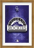ROCKIES - LOGO 11 Wall Poster