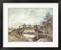 A Bridge Over the Stour Fine Art Print