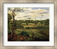 View of Highgate from Hampstead Heath, c.1834 Fine Art Print