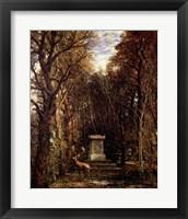 The Cenotaph to Reynold's Memory, Coleorton, c.1833 Fine Art Print