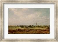 View of Salisbury Fine Art Print