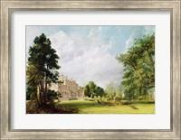 Malvern Hall, Warwickshire, 1821 Fine Art Print