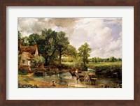 The Hay Wain, 1821 Fine Art Print