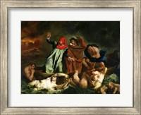 Dante and Virgil in the Underworld, 1822 Fine Art Print