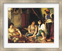 The Women of Algiers in their Apartment, 1834 Fine Art Print