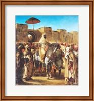 Muley Abd-ar-Rhaman  The Sultan of Morocco Fine Art Print