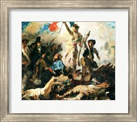 Study for Liberty Leading the People Fine Art Print