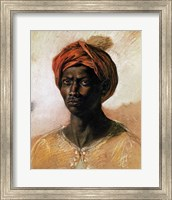 Portrait of a Turk in a Turban, c.1826 Fine Art Print