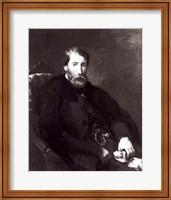 Portrait of Alfred Bruyas Fine Art Print