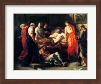 Study for The Death of Marcus Aurelius Fine Art Print