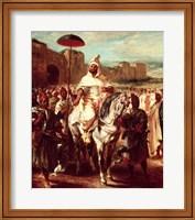 Abd Ar-Rahman Sultan of Morocco Fine Art Print