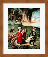 Lot and his Daughters Fine Art Print