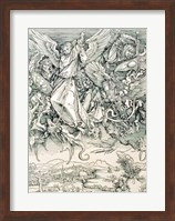 St. Michael Battling with the Dragon from the 'Apocalypse' Fine Art Print