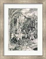 The Flight into Egypt from the 'Life of the Virgin' Fine Art Print