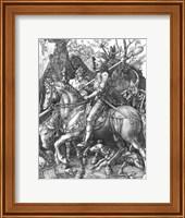 The Knight, Death and the Devil, 1513 Fine Art Print