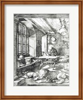 St. Jerome in his Study, 1514 Fine Art Print