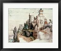 Fortified Castle Fine Art Print