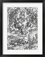 Scene from the Apocalypse, St. John before God the Father and the Twenty-Four Elders Fine Art Print