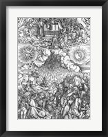 Scene from the Apocalypse, The Opening of the Fifth and Sixth Seals Fine Art Print