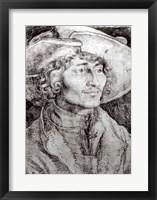 Portrait of an unknown man, 1521 Fine Art Print