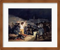 Execution of the Defenders of Madrid Fine Art Print