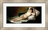 The Naked Maja, c.1800 Fine Art Print
