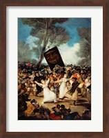 The Burial of the Sardine Fine Art Print