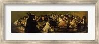 The Witches' Sabbath (panel) Fine Art Print