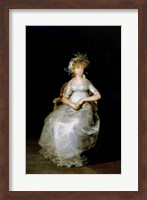 Portrait of Maria Teresa Fine Art Print