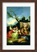 The Washerwomen, before 1780 Fine Art Print
