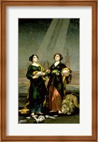 St. Justina and St. Rufina, 1817 Fine Art Print