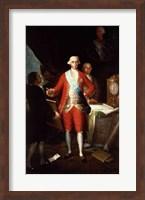 Portrait of Don Jose Monino y Redondo I Fine Art Print