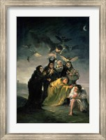 The Witches' Sabbath Fine Art Print