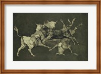 Folly of the Bulls, from the Follies series Fine Art Print